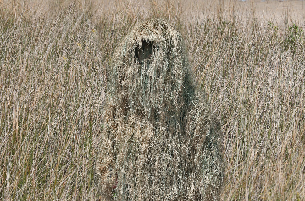 Ghillie Suit In Action Camouflage Pinterest